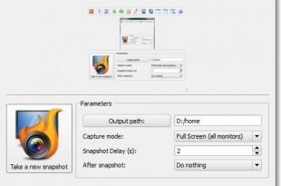 Capturar la pantalla con HotShots