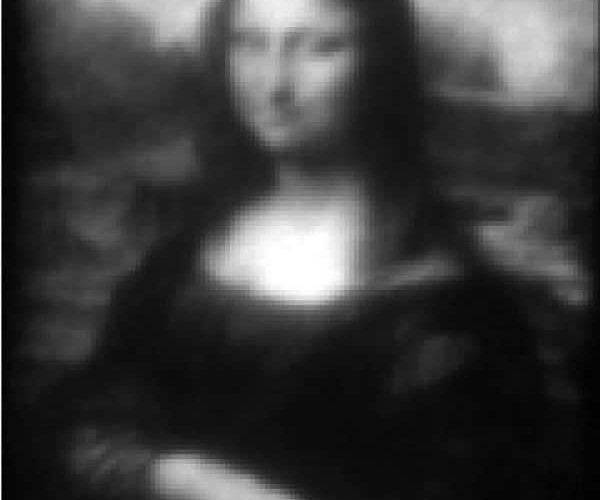 Mona Lisa: su más pequeña reproducción