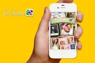 Vintaframe, crea collages en tu iPhone