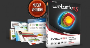 Crear sitios web originales con WebSite X5®