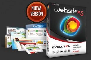 Crear sitios web originales con WebSite X5®