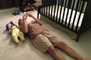 El bebé y el móvil