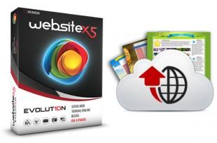 WebSite X5® Evolution 10 ofrece alojamiento web gratuito