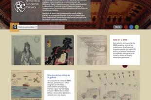 Biblioteca Nacional Escolar, múltiples recursos digitales