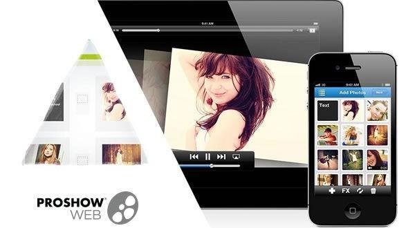 Crear y compartir vídeo presentaciones con Proshow Web
