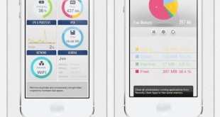System Util Dashboard, para controlar un dispositivo iOS