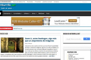 Analiza el rendimiento de un sitio web con GTmetrix