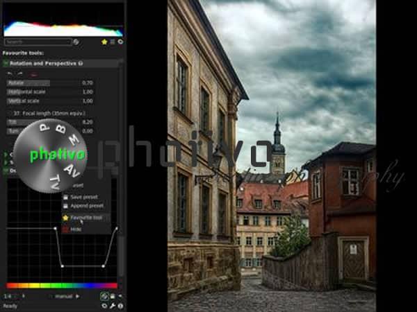 Photivo, un potente procesador fotográfico
