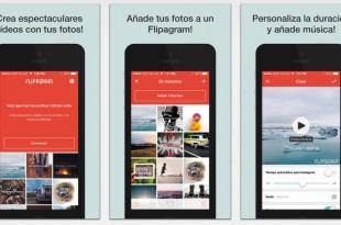 Flipagram, para crear vídeos con tus fotos