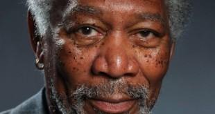 El impresionante retrato de Morgan Freeman