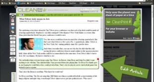CleantPrint, para imprimir o convertir a PDF páginas web