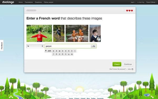 Aprende idiomas con Duolingo en Google Chrome