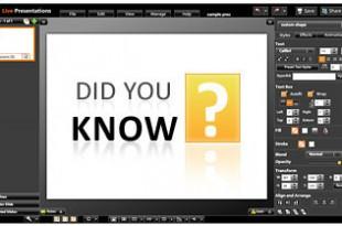 Live Presentations, crea y comparte tus presentaciones