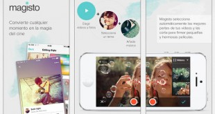 Magisto, para crear vídeos en dispositivos móviles