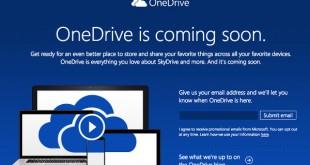 ¿Por qué SkyDrive se convierte en OneDrive?