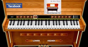 El piano virtual