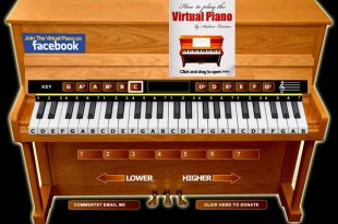 El piano virtual