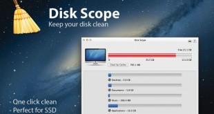 Disk Scope, para mantener limpio el disco de tu Mac