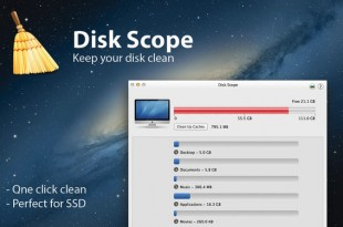 Disk Scope, para mantener limpio el disco de tu Mac
