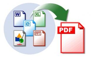 Convierte documentos a PDF