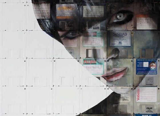 Photo of Arte con diskettes
