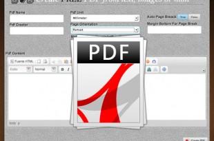 Crea un PDF en línea