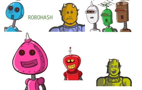 Convierte una porción de texto en un robot