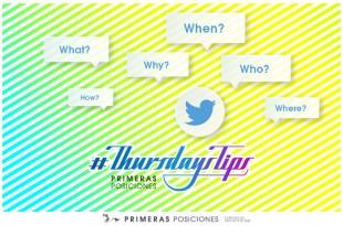Resolución de dudas en Twitter con los #ThursdaysTip