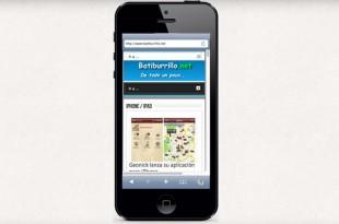 iPhone 5 Simulator, como se ve una página web en un iPhone