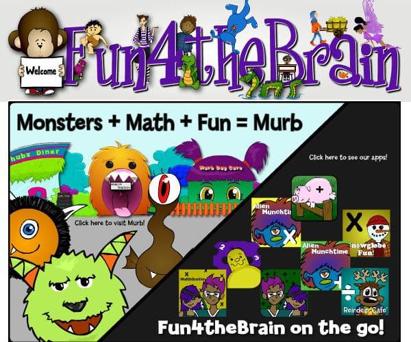 Fun 4 The Brain, juegos educativos