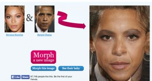 Morph Thing, para combinar dos caras en una