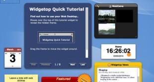 Tu escritorio web con Widgetop