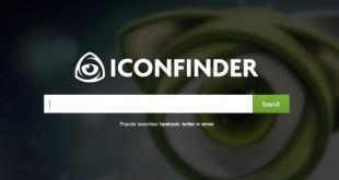 IconFinder, buscador de iconos