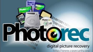 PhotoRec, para recuperar imágenes y archivos