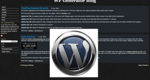 Generador de temas para WordPress