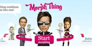Morph Thing, para fundir dos caras