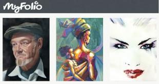 Comparte obras de arte en MyFolio