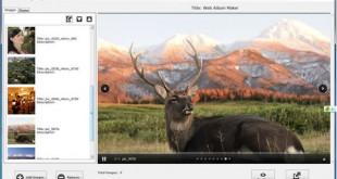 Crea galerías de imágenes con SkyAlbum Photo Gallery Builder