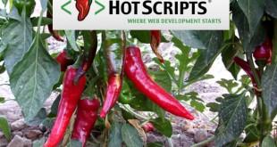 Hot Scripts, recursos para sitios web