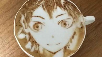 Kazuki Yamamoto, el arte sobre la espuma de un café con leche