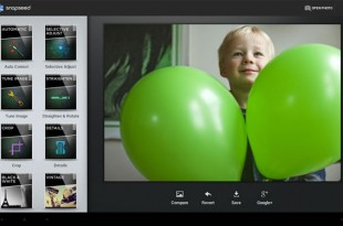 Snapseed, aplicación fotográfica para Android