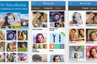 Gran cantidad de efectos para tus fotos en iOS con Pho.to Lab
