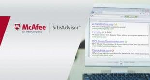 McAfee SiteAdvisor, navega con confianza