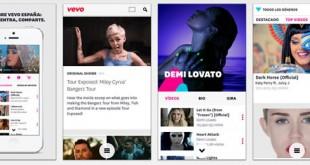 Vevo, vídeos musicales en dispositivos móviles