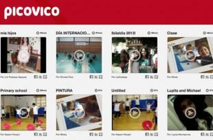 Crea vídeos a partir de fotos con Picovico