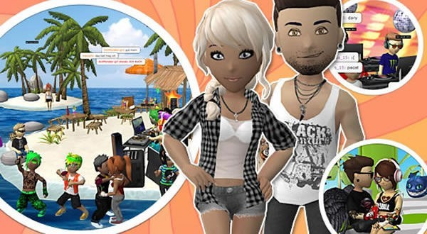 Club Cooee, un chat en 3D