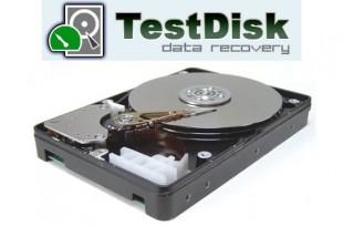 Recuperar datos en el disco duro con TestDisk