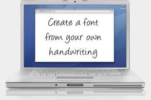 Font Generator, para crear fuentes de texto de nuestro puño y letra