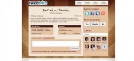 Tweetvite, para localizar y crear Tweetups en Twitter