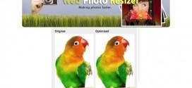 Retocar fotos con Web Photo Resizer